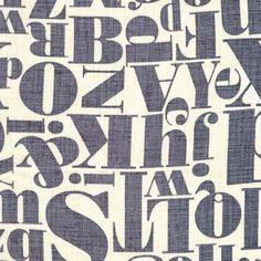 Letterpress in Gray