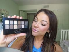 ▶ Tutorial~New Maybelline The Nudes Palette & Giveaway! - YouTube
