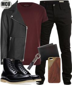 Scarlet Witch Inspired Menswear by lauloxx featuring Brahmin