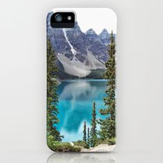 Moraine Lake iPhone Case by Lynn Bolt - $35.00