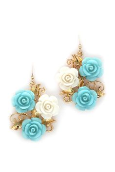Sybil Rose Earrings | Awesome Selection of Chic Fashion Jewelry | Emma Stine Limited