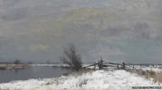 Winter by the Thurne, Edward Seago (1919-1974), a self-taught artist who was born in Norwich and lived in Ludham, best known for landscapes and portraits. | BBC