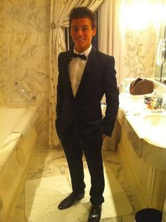 Tom Daley in a Tuxedo