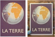 La Terre | Prints | Keep Calm Gallery  http://www.keepcalmgallery.com