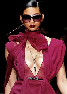 Gucci F/W 2011 (Chanel Iman)