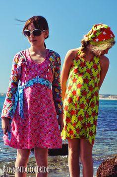 bienvenido colorido: Ab heute bei farbenmix: La Playita und La Playa! Sommerkleider