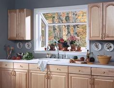 Kitchen Casement Window Over Sink | Kitchen Garden Window, Greenhouse Sink  Window, Window Boxes Part 29