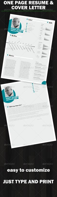 I love this clean, crisp resume design in two different styles of - different resume styles