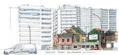 Urban Sketchers: CONTRASTS