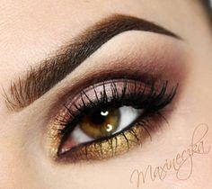 Sleek Garden of Eden Metallic Eye Makeup, Pink Eye Makeup, Metallic Pink, Eyeshadow Makeup, Beauty Makeup, Hair Makeup, Sleek Makeup, Makeup Inspo, Makeup Inspiration