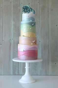 Beach Themed Cake |