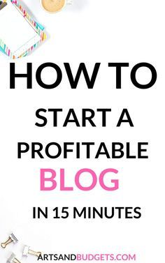 Find out to start a new blog in this step by step post! Plus find out how to start making money from your blog & generate a ton of traffic to it- ways to make money blogging, how to start a blog, how to generate traffic to your blog
