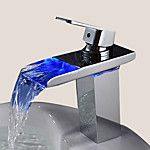 Sprinkle® Sink Faucets  ,  Contemporary  with  Chrome Single Handle One Hole  ,  Feature  for Waterfall 2017 - €48.99