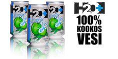 H2O+ 100% Kookosvesi - Hydrate Naturelly   www.kookosvesisuomi.fi