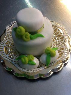 Mini wedding e confetti decorati...
