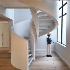This modern staircas