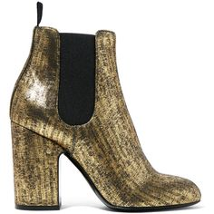 Laurence Dacade Mila metallic brushed-leather ankle boots (1 030 AUD) ❤ liked on Polyvore featuring shoes, boots, ankle booties, metallic, ankle boots, leather high heel boots, cuffed ankle boots, long boots and leather bootie