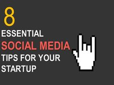 8 Essential Social Media Tips for Your Start-up by nenindia via authorSTREAM. straightforward tips with gorgeous images (side bonus).