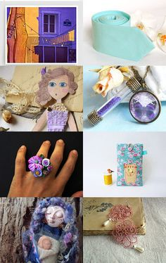 A surprising mix by Silvia Paparella on Etsy--Pinned with TreasuryPin.com