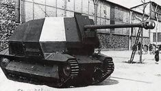 A French FCM 36 cavalry tank modified by the Germans to carry a 7.5 cm Pak 40 L/43. Used as a tank destroyer.