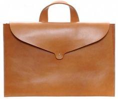 Mimi Berry_Leather Laptop Bag