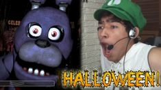 ESPECIAL DE HALLOWEEN - Five Nights At Freddy's | Fernanfloo