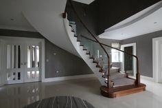 Concrete Stairs, Sound Proofing, Contemporary, Building, Design, Home Decor, Decoration Home, Room Decor, Buildings