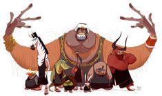 hebro character design: -ANIMAL CREW-