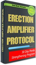 Erection Amplifier Protocol Review: All-natural solution to cure your erectile dysfunction! Get DISCOUNT $20 OFF Now!