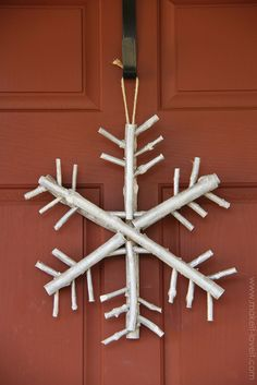 Twig & Branch Snowflake….a nice and earthy piece of winter decor | Make It and Love It