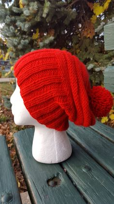 Check out this item in my Etsy shop https://www.etsy.com/listing/253821593/red-chunky-hat-red-knit-hat-winter-red
