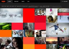 MassiveMusic global portfolio #webdesign #inspiration #UI