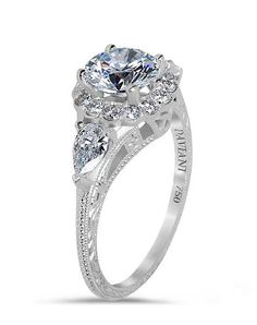 Daviani Love Links Collection DCR1064 Engagement Ring photo