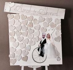 Weddings Memory Board 85x85cm