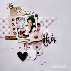 Scrapbook layout | S