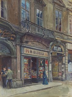 Ernst Graner Moses Blumka shop, Vienna - The Largest Art reproductions Center In Our website. Low Wholesale Prices Great Pricing Quality Hand paintings for saleErnst Graner Cityscape Art, Vienna Austria, Large Art, Art Reproductions, Vintage Postcards, Art World, Lovers Art, Art Day, Art For Sale