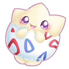 Togepi ^.^ ♡ I give good credit to whoever made this