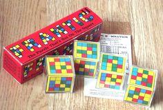 VINTAGE Puzzle Game, Vintage Frantic Puzzle, Vintage 'Frantic 2' - RARE by BunkysVintageCrafts on Etsy