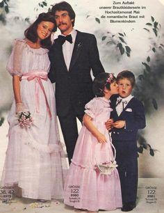 1979, Burda moden Vintage Wedding Photos, Vintage Bridal, Wedding Pics, Wedding Wear, Wedding Gowns, Vintage Weddings, Laura Ashley Wedding Dress, 1980s Wedding, 1960 Dress