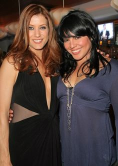 Kate Walsh (Addison Montgomery) & Sara Ramirez (Callie Torres). Grey's Anatomy.