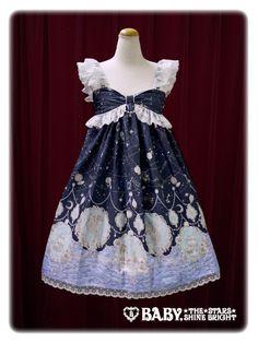 Alice and the Pirates Starry moonlight night Sirene jumper skirt Ⅱ