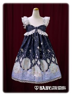 Alice and the Pirates Starry moonlight night Sirene jumper skirt Ⅱ