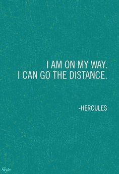 Weekly Affirmation: Go The Distance | Disney Style