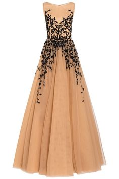 Embellished Tulle Gown | Georges Hobeika | BySymphony