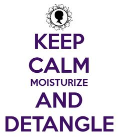 that's the natural hair motto.