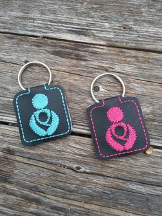 Crunchy MamaKey Ring baby by babymoon on Etsy