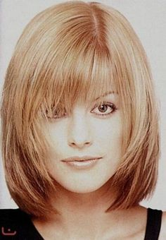 Best Hairstyles Medium Length Fine Hair Pictures - Medium Hairstyles hairstyles medium length Fine hair, long-hair-Shag hair cuts are definitely the most versatile and t Click the image now for more info. Short Haircuts With Bangs, Bob Hairstyles For Fine Hair, Medium Bob Hairstyles, Hairstyles Haircuts, Cool Hairstyles, Hairstyles For Medium Length Hair With Bangs, Teenage Hairstyles, Braid Hairstyles, Medium Hair Cuts