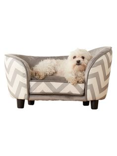 Chevron Snuggle Bed by Enchanted Home Pet at Gilt
