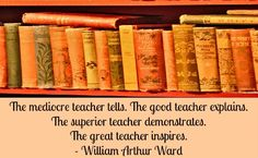 Can all teachers be like the superior one?!