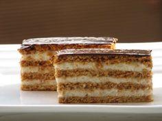 Retro sütemények-Neked melyik volt a kedvenced? Hungarian Recipes, Hungarian Food, Sweet Recipes, Tiramisu, Recipies, Cooking Recipes, Retro, Ethnic Recipes, Google